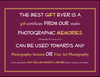 Price Lists & Gift Certificates